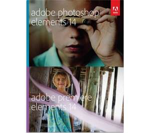 ADOBE Photoshop Elements 14 & Premiere Elements 14  Buy and Download £54.99 @ PC World