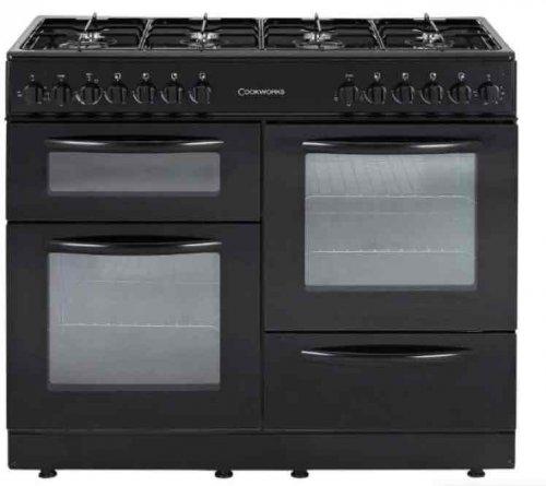 Cookworks CCL100DFB Range Cooker £399.99 @ Argos