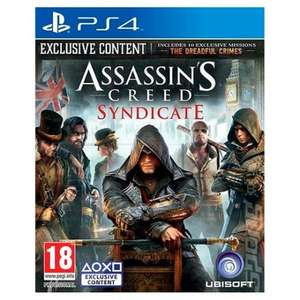 Assassins Creed Syndicate PS4/XB1 £26 Tesco Groceries