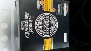 Pizza express pizza and dough balls big box set ASDA was £4 now £2 instore