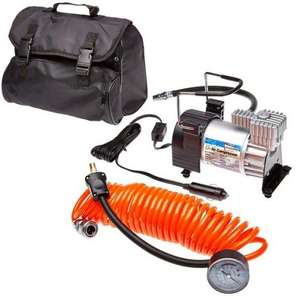 Streetwize Kruga Air Compressor with Orange Lead/Gauge £19.99 @ EuroCarParts