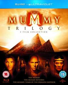 The Mummy Trilogy Blu Ray Amazon Prime £5.99  with P+P £7.98