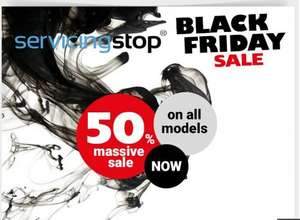 50% OFF Black Friday  Discount on Car Servicing @ servicingstop