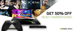 nVidia Black Friday Sale - 50% off eight Shield Games