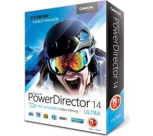 Cyberlink PowerDirector 14 Ultra - Currys £29.99 Delivered.