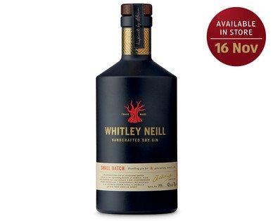 Whitley Neill Gin £19.99 @ Aldi