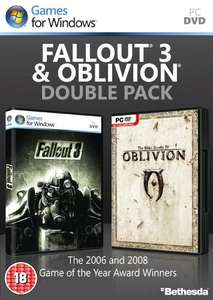 Fallout 3 and Elder Scrolls IV Oblivion PC Disk Only £1.99 Delivered at Yellow Bulldog