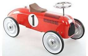 Halfords Retro Racing Car Ride On was £79 now £39 @ halford free c&c