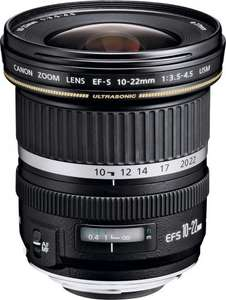 Canon EF-S 10-22mm f3.5-4.5 USM Camera Lens £310.39 from Argos on eBay