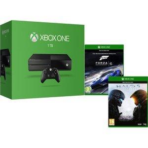 1Tb Xbox One Console with Halo 5: Guardians & Forza 6  £279.99 @ Zavvi