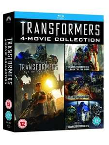 Transformers: Movie Collection (Blu-Ray Box Set) £9.60 Delivered (Using Code) @ Zoom
