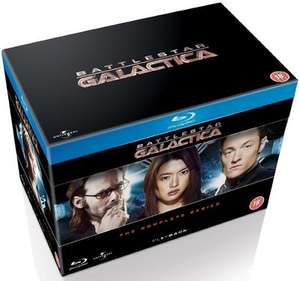 Battlestar Galactica the complete series [Blu-ray] £20 @ Zoom using code