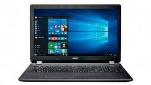 "Acer ES1-531, 15.6"", Laptop, Windows 10, Intel Celeron, 4GB RAM, 1TB - Black £179 @ Tesco from Friday"