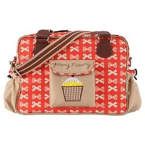 Pink Lining Yummy Mummy Changing Bag, Red/Cream Bows. Half Price £39.50 @ John Lewis (online & instore)