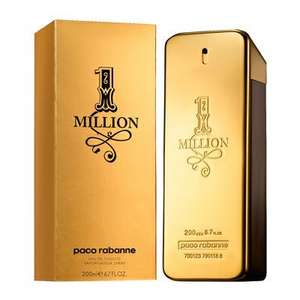 Paco Rabanne 1 Million Eau De Toilette Spray 200ml - Black Friday Special £49.00 @ feelunique