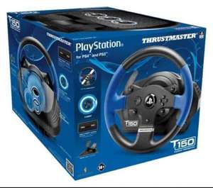 Thrustmaster T150 Force Feedback Wheel (PS4/PS3/PC) £109.99 Delivered via Prime at Amazon