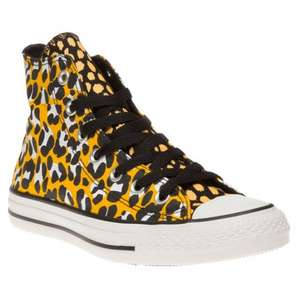 aa94ab03c3a78a Converse All Star Hi Trainers in Gold Black Reduced from £52.49 to £23.20