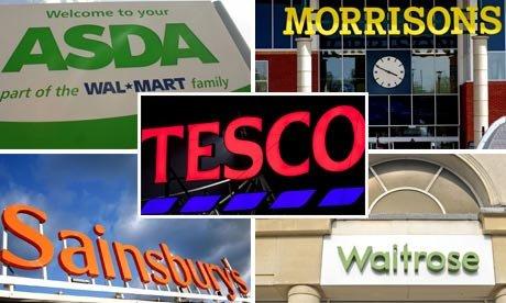 Online Grocery Code Stacking - Asda - Waitrose - Sainsbury's - Tesco - Ocado - Morrisons