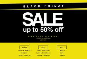 Tesco F&F Black Friday Clothing Sale upto 50% off INSTORE + ONLINE STARTS TODAY!