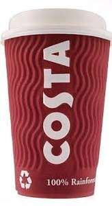 Costa Coffee black friday deal - get 300 Costa Coffee Club points (worth £3) when you spend £5 in store