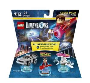 Lego Dimensions Back to the Future Level Pack ( £19.95 ) @ coolshop.co.uk