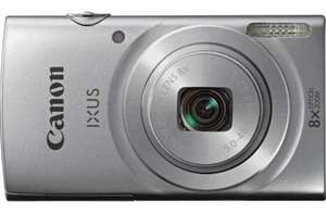Canon Ixus 145 2.7 Inch 16MP 8x 4x 720p Compact Digital Camera - Silver Brand New With a 12 Month Argos Guarantee £44.99 @ Argos ebay