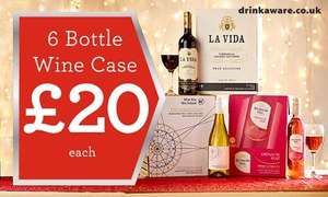 Morrisons Selected Wine Cases £20 each 6x75cl - Offer starts Thursday 26th Nov