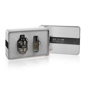 Viktor & Rolf spicebomb edt 90ml + 20ml gift set £47.85 with code @ Feel Unique