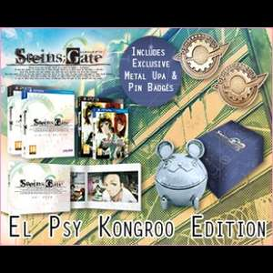 Steins;Gate El Psy Kongroo Edition (PS Vita/PS3) £24.99 Delivered @ Rice Digital