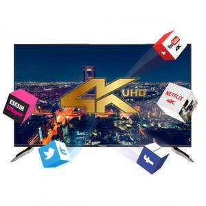 "Finlux 55"" 4K Ultra HD LED Smart 3D TV With Freeview HD £599.99 @ Finlux"