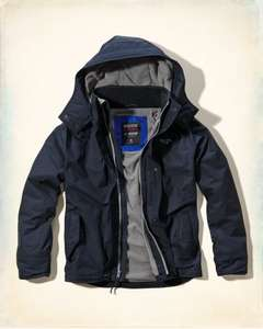The Hollister All-Weather Coat £39.50 @ Hollister