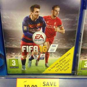 various ps4 and Xbox games reduced in tesco from £20