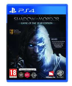 Middle-Earth: Shadow of Mordor GOTY (PS4) / XBox One - £15.99 @ Amazon (Lightning Deals)