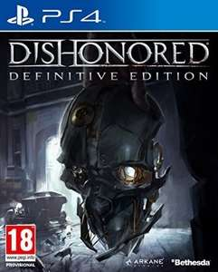 Dishonored: The Definitive Edition- PS4 or XBOX ONE £12.50 (Prime) £14.49 (Non Prime) @ Amazon