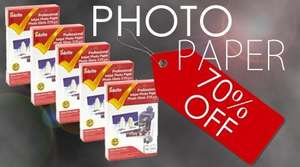 Black friday deals £3 @ Inkredible on photo paper 70%off
