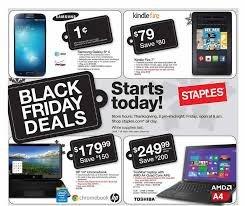 Staples Black Friday Deals @ Staples Instore