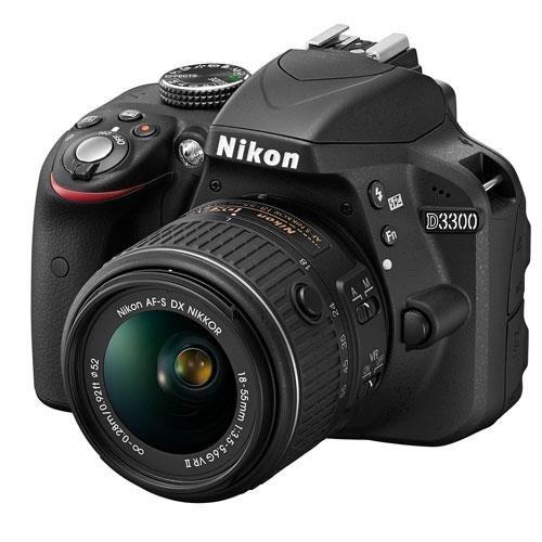Nikon D3300 DSLR  + 18-55mm f/3.5-5.6 VR II Lens @ Jessops (£276 with Cashback) + FREE Nikon bag, EN-EL14a Battery & Lens Cleaning Pen