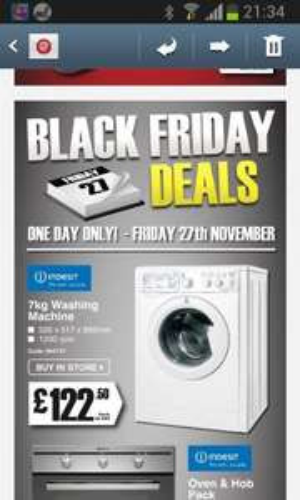 indesit 7kg washing machine trade customers £122.50 b&q
