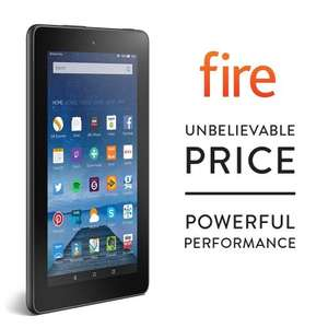 "Fire, 7"" Display, Wi-Fi, 8 GB - £34.99 - Amazon"