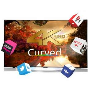 "Black Friday - 55"" Curved 4K UHD TV just £799 from Finlux"