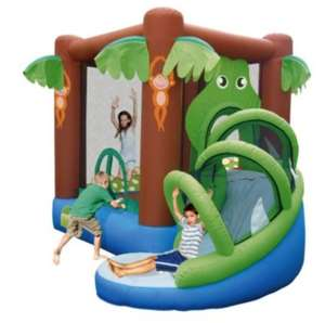 Crocodile Airflow Bouncy Castle @ Tesco Direct for £120 (was £250) + Clubcard Boost + you're all invited to the party