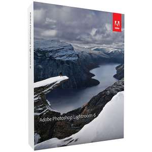 Adobe Lightroom 6( Mac/PC) @ John Lewis for £54.98 (RRP £110)