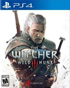Witcher 3 (PS4) @ Tesco for £22