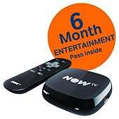 Now TV Box (New version) + 6 months Entertainment Pass  or 4 Months Movies Pass £19 @ Tesco Direct (and instore)