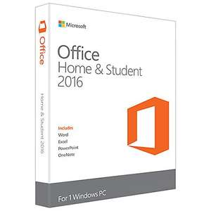 Microsoft Office Home and Student 2016, 1 PC Half Price £59.98 @ John Lewis