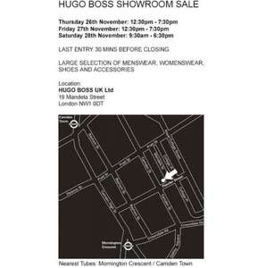 Hugo Boss Sample Sale
