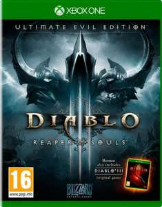 Diablo 3 Ultimate Evil Edition ps4 £13.99 Amazon instock £9 for PS3 (Free prime delivery)