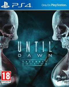 Until Dawn @ Gamestop £21.97 Delivered PS4