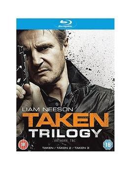 Taken 1-3 Blu-ray (£9 - Tesco Direct)
