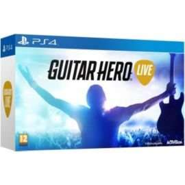 PS4 Guitar Hero Live + Guitar (Tesco online) £49